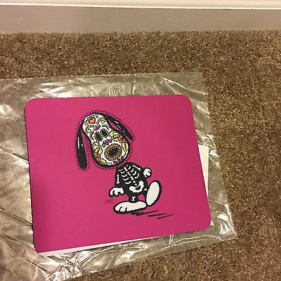 Snoopy Day of the Dead mouse pad (brand new)
