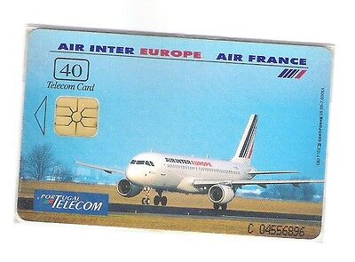 "Portugal Pt 92 Chipkarte ""air France/europe"" Ex: 4.000 - Im Blister/mint"