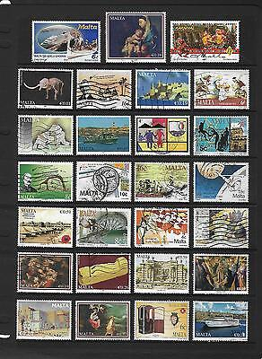 MALTA stamp selection.(ref.201)