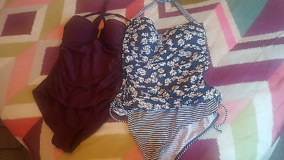 2 x Next swimsuits size 12
