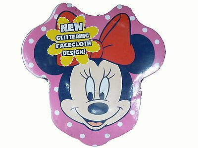 Brand New Disney Minnie Mouse Magic Face Kids Flannel Cloth Expands on Water