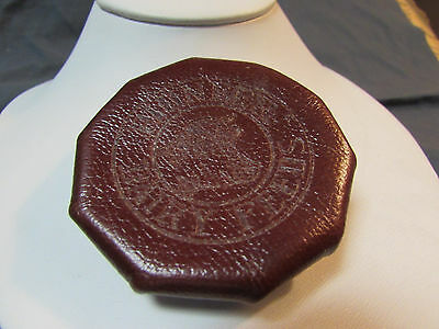 Vintage Pioneer Dairy Feeds Leather?  Pocket Coin Purse