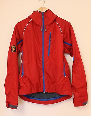 Paramo Pasco jacket Fire red & Blue size small