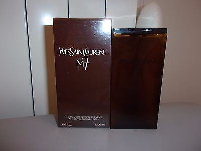 "YSL ""M7"" Gel Douche 200ml raro snower gel"