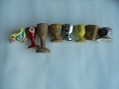 Vintage Egg Cup~ Chickens, Rooster, Belleck, Japan Finland,Ruby Red For 1 only