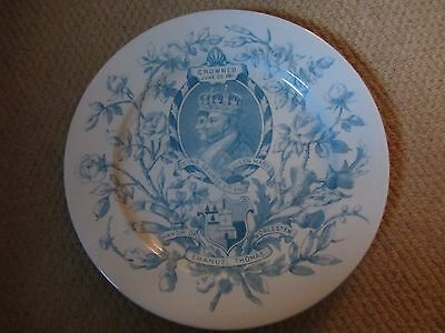 Royal Worcester King George V and Queen Mary Coronation 1911 Commemorative Plate