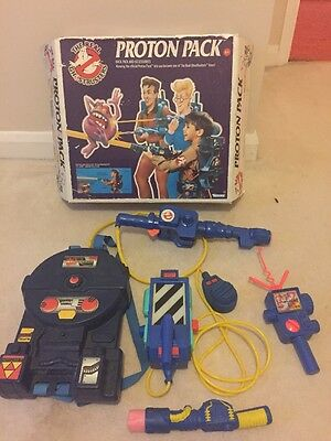 Original Ghostbusters Proton Pack 1980's Collectable Item Boxed