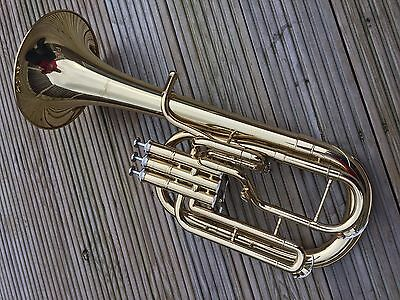 Cateinet CT12 Eb Tenor Horn-New,Unused Item In Fantastic Lacquered Finish-