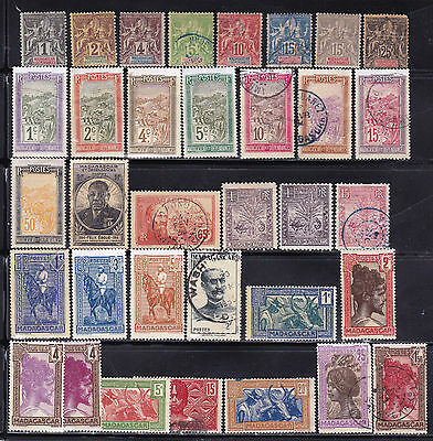 Madagascar - French Colonies - Valuable Old Collection - Look!