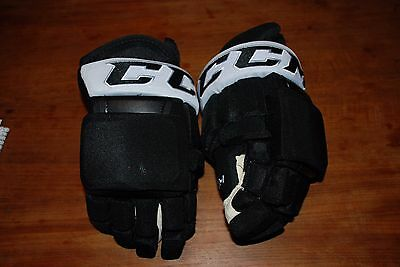 New Pro Stock Ccm Hg97 Hockey Gloves Pittsburgh Penguins Black/white