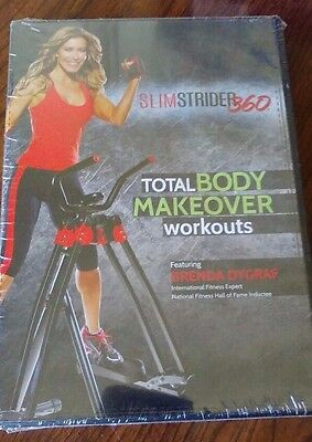 Slimstrider 360 Total Body Makeover Workouts Featuring Brenda Dygraf DVD
