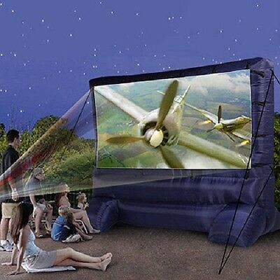 Outdoor Screens For Movies Inflatable TV Screen Airblown Projector Jumbo Gemmy