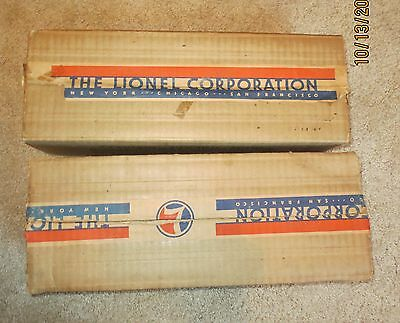 309 310 boxes Lionel Standard Gauge Dated 1937 Very Clean bricks (boxes only)