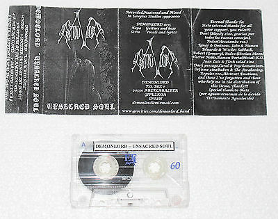 Demonlord - Unsacred Soul Demo Tape / Raw Black Metal / Akitsa / Bone Awl