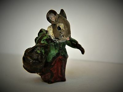 Franz Bergman Stamped Cold Painted Vienna Bronze Beatrix Potter Mrs Tittlemouse