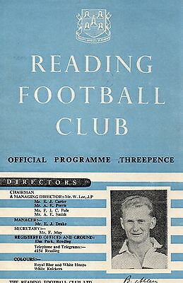 READING v BOURNEMOUTH 49/50