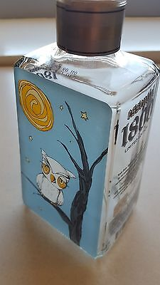 """1800 Tequila Bottle Decanter Limited Edition Artists Series #20/1800 """"MOONLIT"""""""