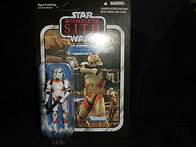 Star Wars revenge of the sith clone trooper 212th battalion MOC Unpunched