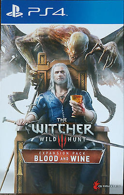 Ps4 Witcher 3 Blood and Wine DLC Expansion (Zone3)
