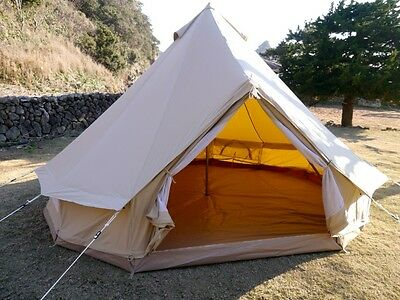 CanvasCamp Sibley 400 ProTech canvas bell tent