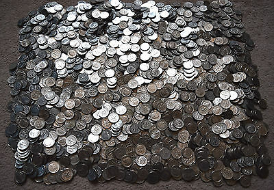 USA: $20 Dollars in coins USD. 200 x 10 Cents - Dimes. Change..