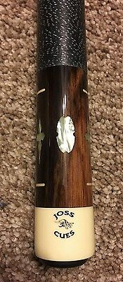 Joss Pool Cue / Stick, Mother of Pearl Inlay, Letter from Dan Janes, NICE!!
