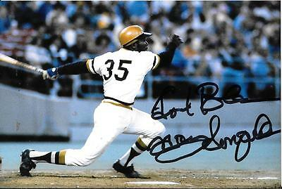 Manny Sanguillen Rare Pittsburgh Pirates Signed Photo