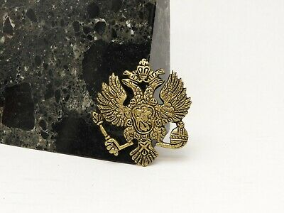 Russian Imperial Double Headed Eagle Casting Catherine Great Romanov Coat Arms