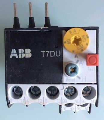 ABB T7DU 1,6 Thermal Overload Relay - used Thermisches Überstromrelay
