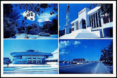Postcard - Maldives -  Images From The Capital -Male' Postally Used