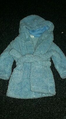 Boys dressing gown 6-12 month