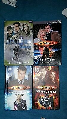 4 Doctor who books