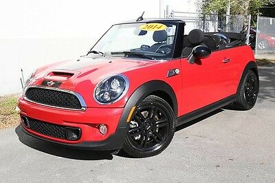 2014 Mini Cooper S S Convertible 2-Door Mini Cooper, Convertible, Turbocharged, Power top, Heated seats! SHIPS FREE!
