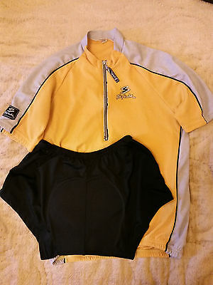 Set of Spink Cycling Jersey and Bib Shorts size L