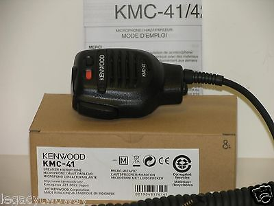 Kenwood KMC-41 M Remote Speaker Microphone NX-200,TK-3140,TK-5210,TK-2180  NEW