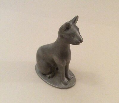 Pewter Cat by Past Times