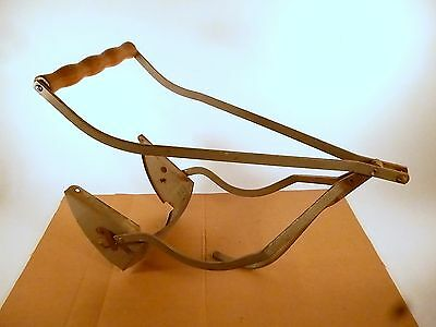 """Vintage Taylor Tot Baby Stroller """"Removable Push Handle"""" with wood hand grip"""