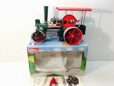 """Wilesco Traction Engine  """"Old Smokey"""" Unfired Mint."""