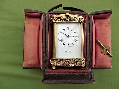 A French  Carriage Clock Timepiece