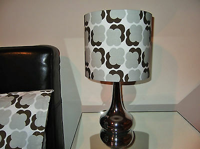 Orla Kiely Retro Style Fabric Lampshade Ceiling Pendant Table Lamp Light