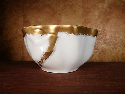 Jean Pouyat of Limoges early 20th Century unusually shaped bowl