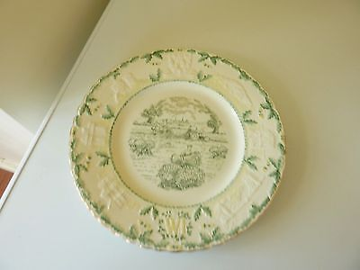 Royal Cauldon Collectable Shropshire W.I. Plate 1956