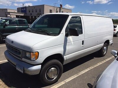 2002 Ford E-Series Van  2002 Ford E250 Cargo Van Factory CNG Natural Gas