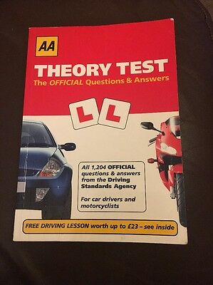 Theory Test Book Question & Answers
