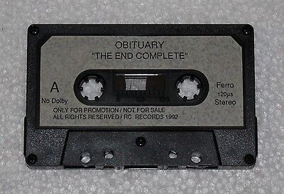 Obituary - The End Complete Promo Tape / Death Metal / Autopsy / Asphyx  Morgoth