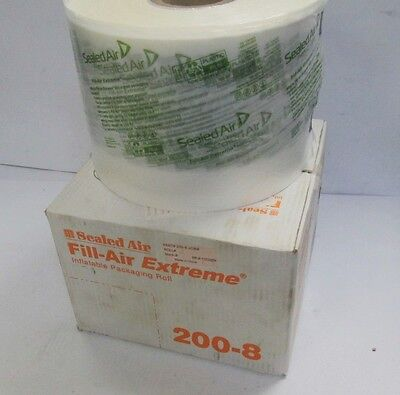 "Sealed Air 200-8 Fill-Air Extreme 8"" x 8"" Inflatable Packaging Roll 4200' Bubble"