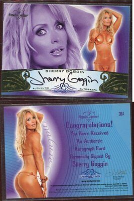 BENCH WARMER autograph SIGNED  guaranteed authentic SHERRY GOGGIN bw lot B71