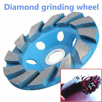 Diamond Segment Grinding CUP Wheel Disc Grinder Concrete Granite Stone 4 Inch 4""