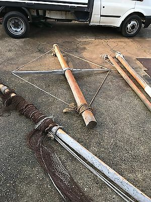 Boat Mast And Boom Nautical Artefacts Display