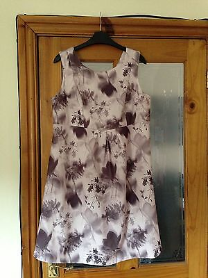 BNWT Next Maternity Light Pink Dress Wedding Party Holiday Size 12 Rrp £30